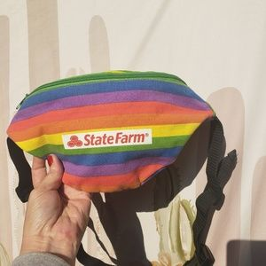 Other - Statefarm Rainbow Pride Fanny Pack Bag